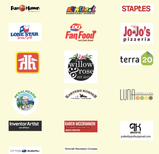 PEdal Play 2017 Donors