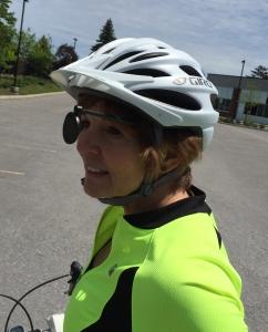 Helmet mirrow - sideview